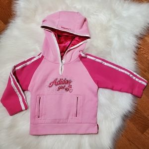 Little Girls Adidas Hoodie 2T